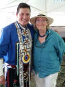 Pan Am Aboriginal Pavilion with Carolyn Bennet