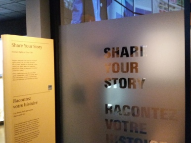 Share Your Story - Museum of Human Rights